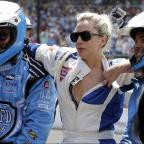 Basildon Recorder: Lady Gaga goes for a drive with Mario Andretti at the Indy 500